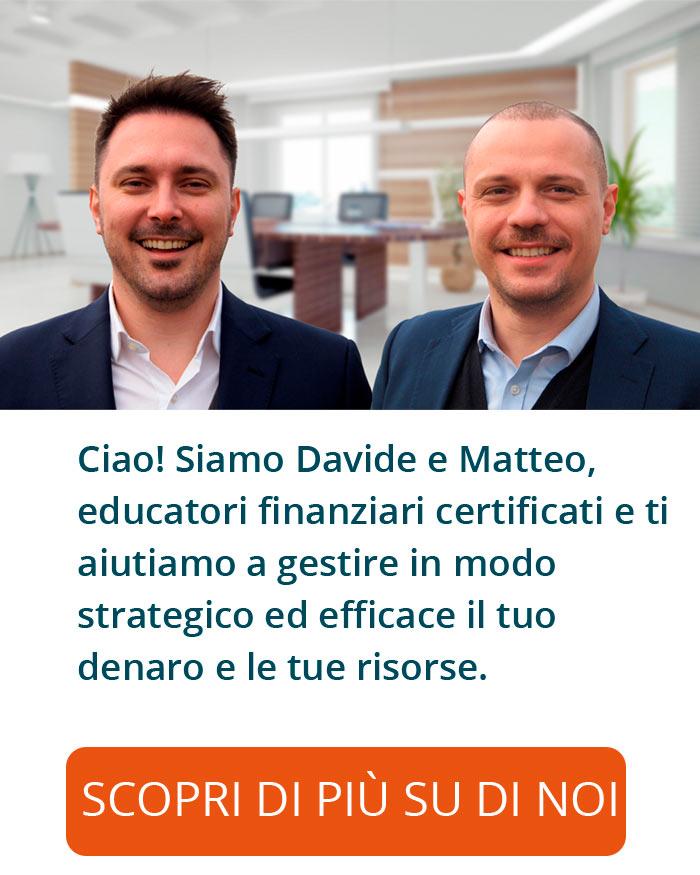 Davide Flisi e Matteo Toffali: Educatori finanziari certificati